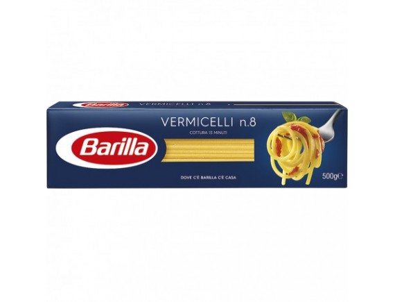 BARILLA 500GR PASTE VERMICELLI N8