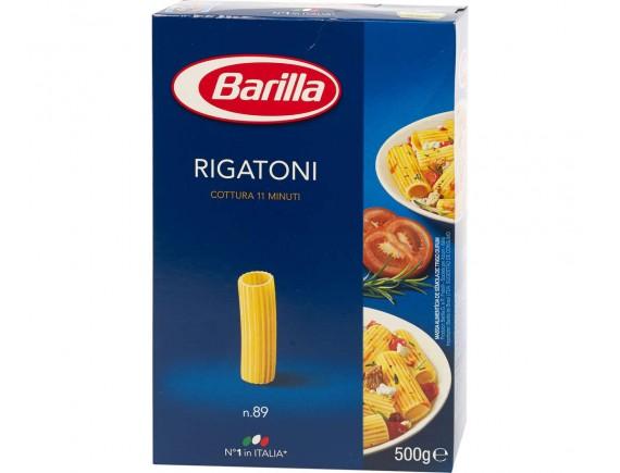BARILLA 500GR PASTE RIGATONI N89