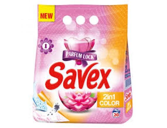 savex 2kg detergent automat color