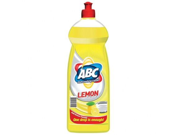 ABC 500ML DETERGENT VASE LEMON