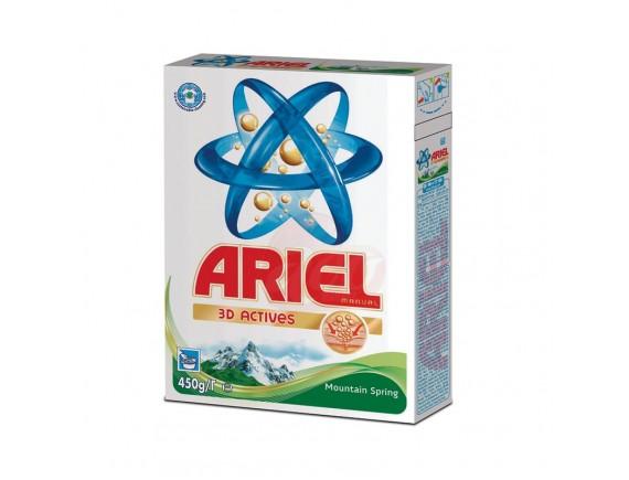 ARIEL 450GR DETERGENT MANUAL LENOR TOUCH SPRING