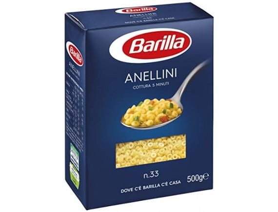 BARILLA 500GR PASTE ANELLINI N33