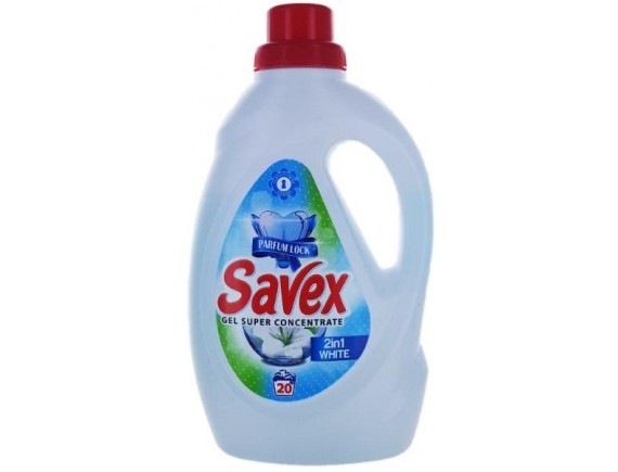 SAVEX 1.1L DETERGENT LICHID AUTOMAT 2IN1 WHITE