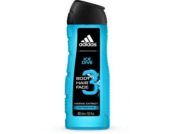 ADIDAS 400ML GEL DE DUS BARBAT FUNCTION ICE