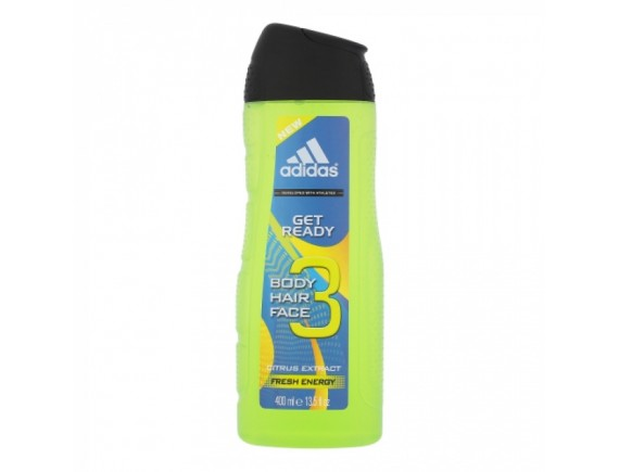 ADIDAS 400ML GEL DE DUS BARBAT GET READY