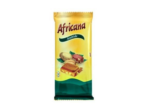 AFRICANA 100GR CIOCOLATA ARAHIDE