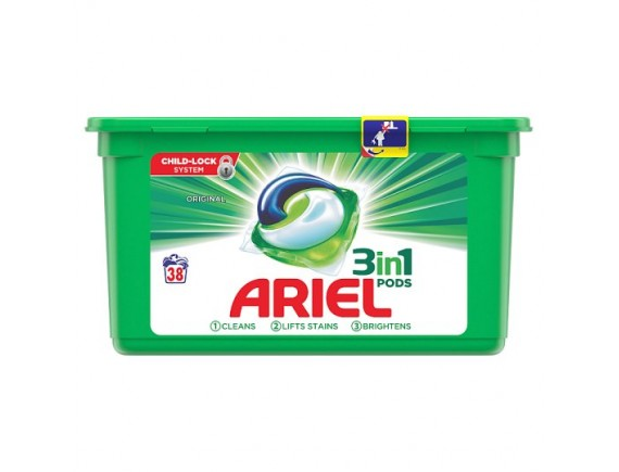 ariel 38buc capsule regular
