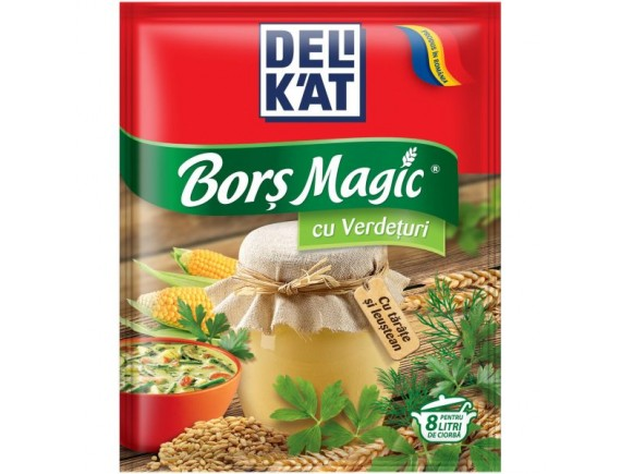 DELIKAT 65GR BORS MAGIC VERDETURI