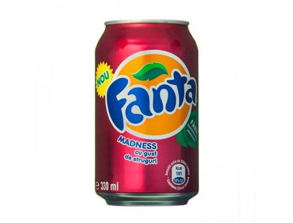 FANTA 330ML MADNESS STRUGURI