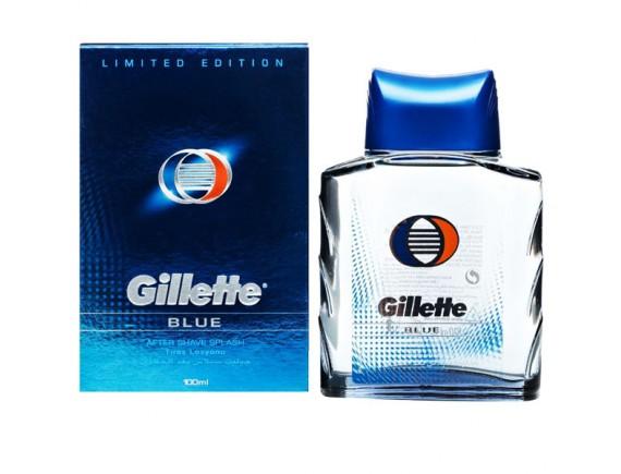 GILLETTE 100ML AFTER-SHAVE BLUE SPLASH