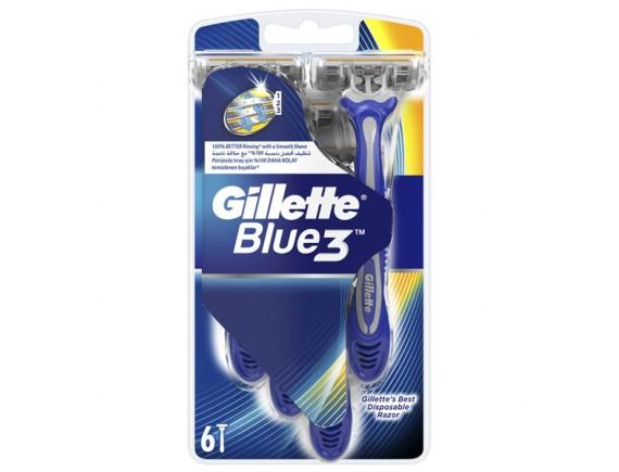 GILLETTE APARAT DE RAS BLUE 3 (6BUC/SET)