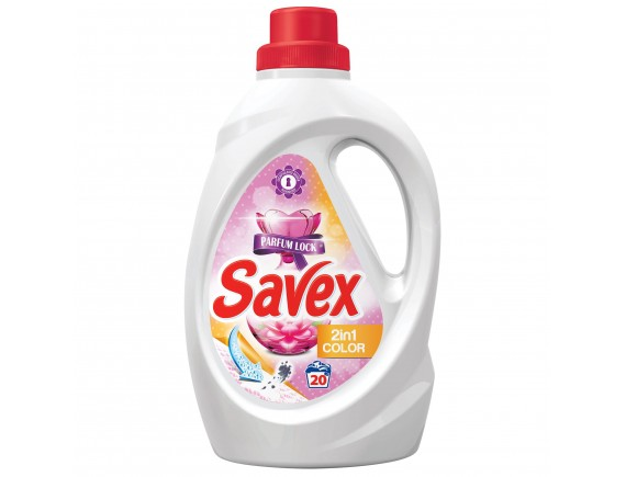 SAVEX 1.3L DETERGENT LICHID AUTOMAT 2IN1 COLOR