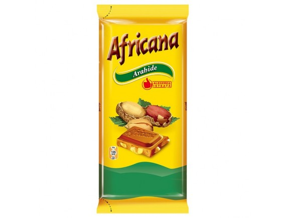 AFRICANA 90GR CIOCOLATA ARAHIDE