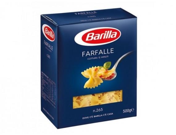 BARILLA 500GR PASTE FARFALLE N265