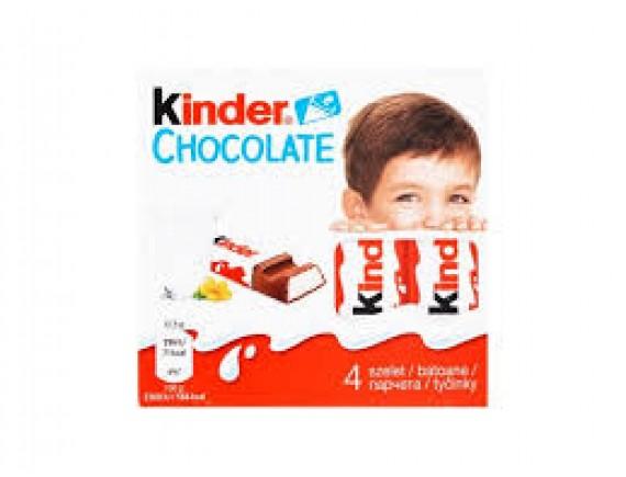 KINDER 50GR CHOCOLATE T4