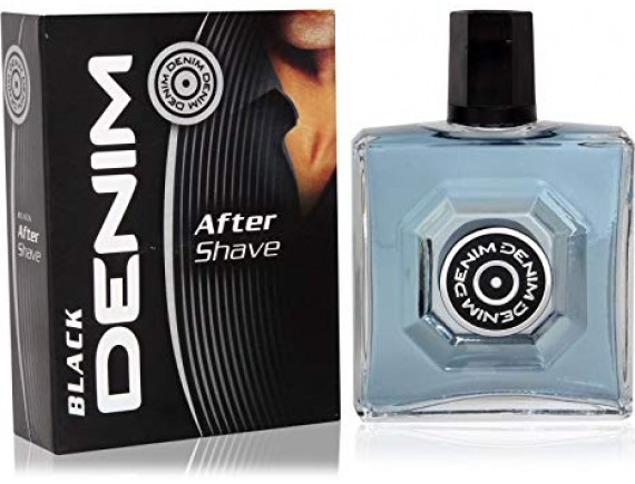 DENIM 100ML AFTER SHAVE BLACK