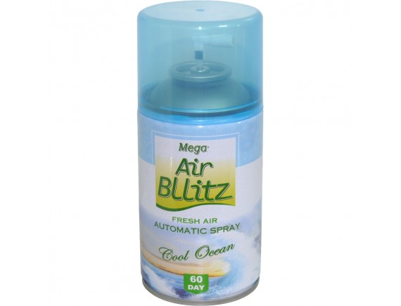 MEGA AIR BLLITZ 260ML REZERVA DE CAMERA COOL OCEAN