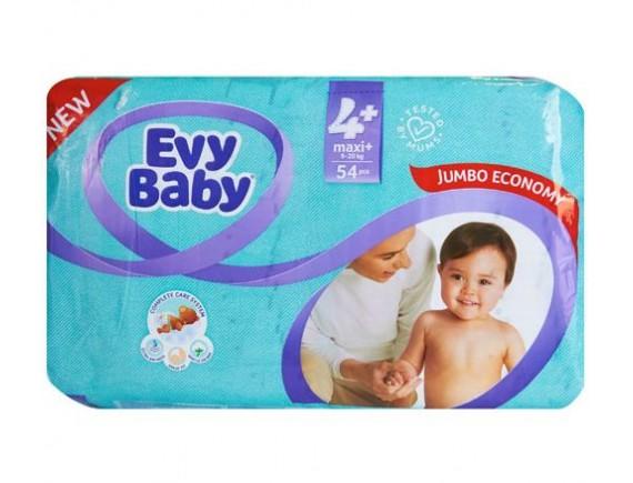 EVY BABY SCUTEC JUMBO  MAXI PLUS NR 4+ (54BUC)