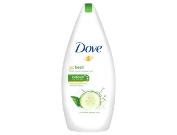 DOVE 250ML GEL DE DUS DAMA GO FRESH CUCUMBER