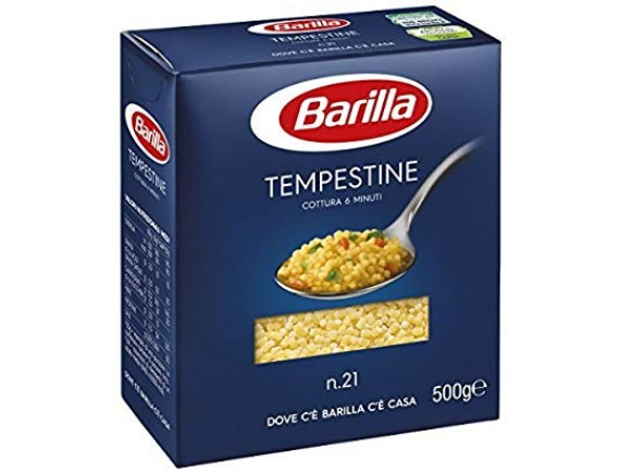 BARILLA 500GR PASTE TEMPESTINA N21