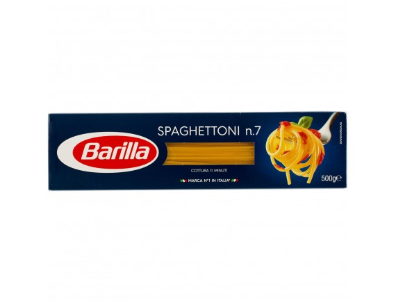 BARILLA 500GR PASTE SPAGHETTONI NR7