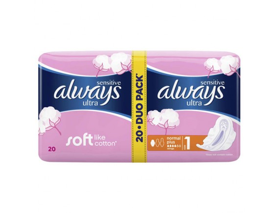 ALWAYS TAMPOANE DUO PACK ULTRA PLUS (20BUC)