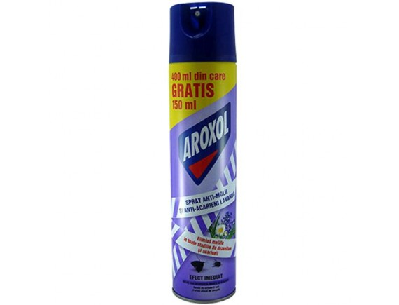 AROXOL 400ML SPRAY MOLII LAVANDA