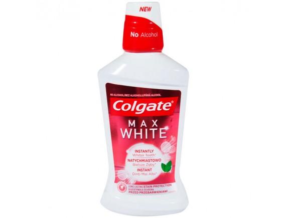 COLGATE 500ML APA DE GURA MAX WHITE