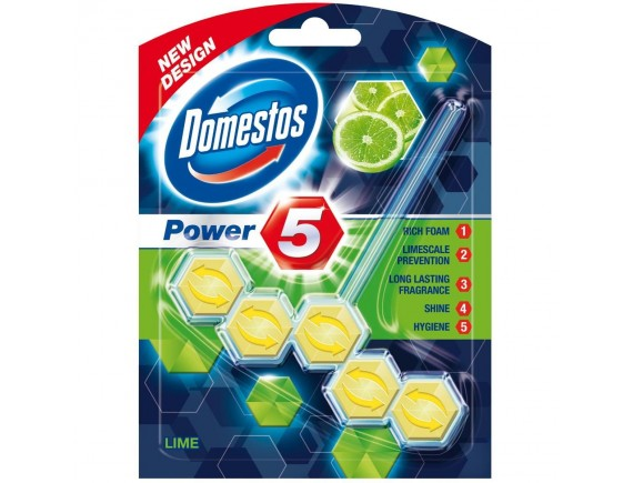 DOMESTOS 55GR APARAT WC POWER LIME