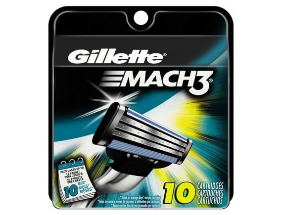 GILLETTE MACH3 REZERVA CARD 10 CARTON
