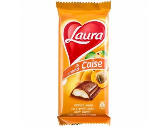 LAURA 95GR CIOCOLATA LAPTE CAISE