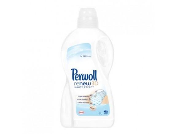 PERWOLL 2L DETERGENT LICHID BRILLIANT WHITE