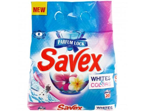 SAVEX 2KG DETERGENT AUTOMAT WHITE COLORS